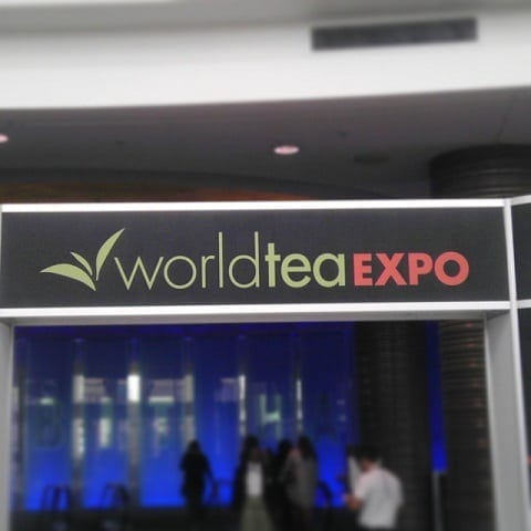 World Tea Expo Sign