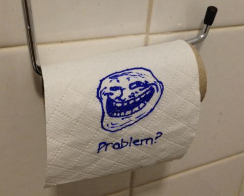 poop troll