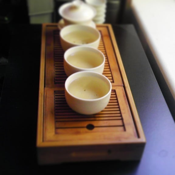 Yong De White Buds Brewed Gong Fu