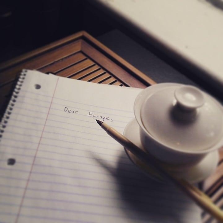 gaiwan writing