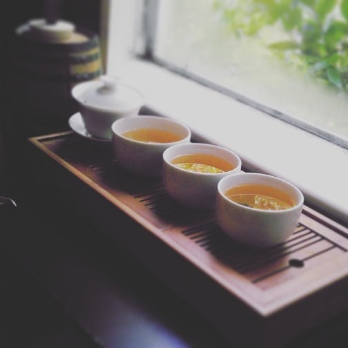 First gongfu test