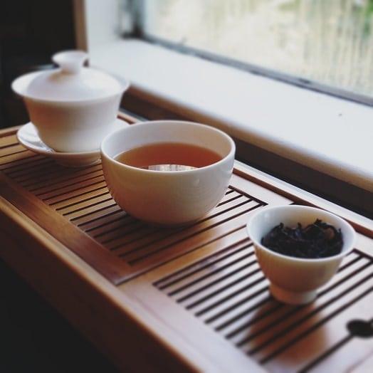 Lao Shu tea brewed
