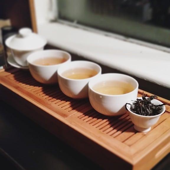 Shui Xian brewed