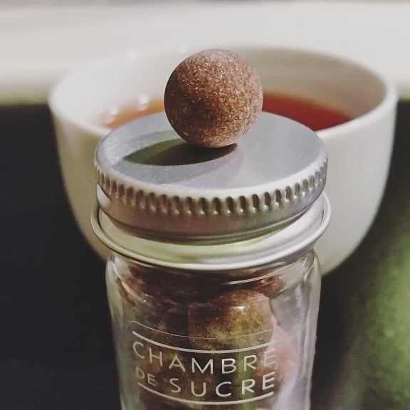 coffee sugar ball