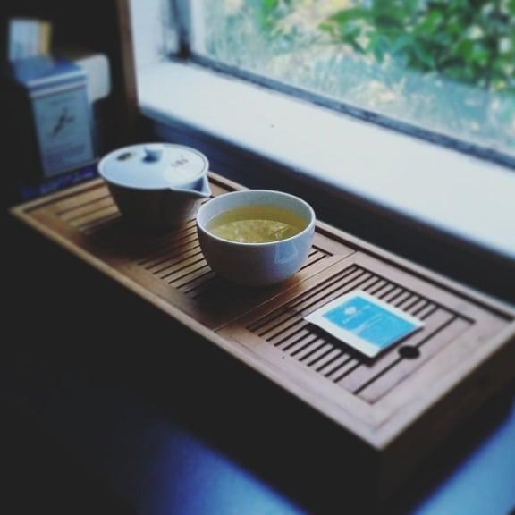 green coffee brewed