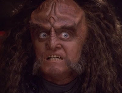 klingon disgust