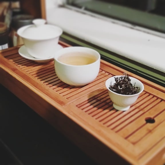 oolong brewed