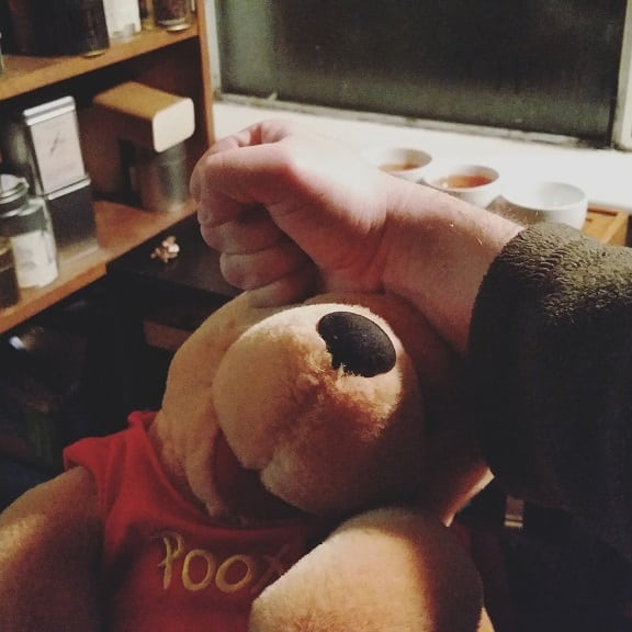 pooh beating