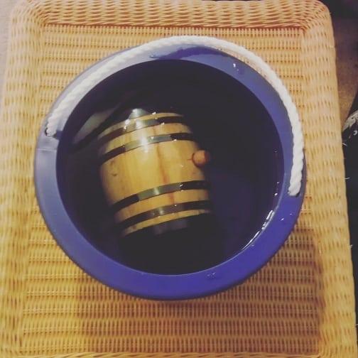 soaking the barrel