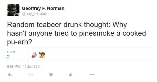 teabeer drunk