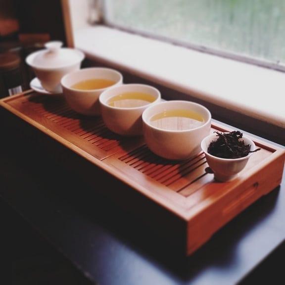 Da Hong Pao brewed