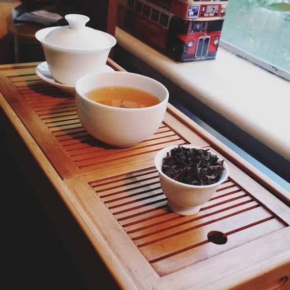Wuyi oolong before New Years