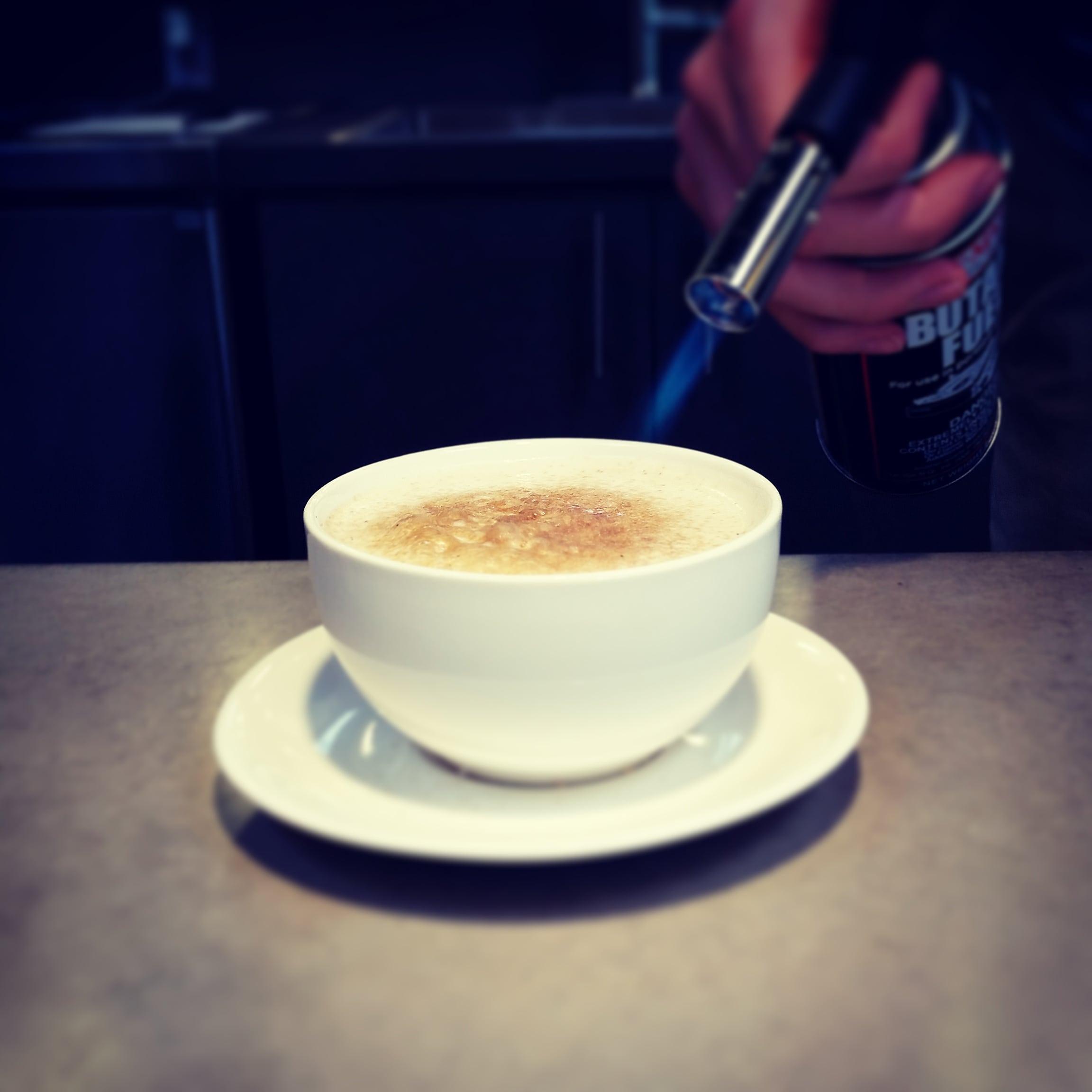 Irish Moringa tea latte