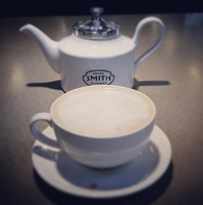 nun chai tea latte