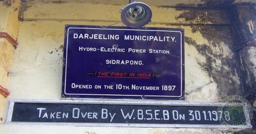 Sidrapong Heritage sign