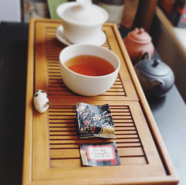 Tan Yang Gong Fu Black Label Tea Brewed
