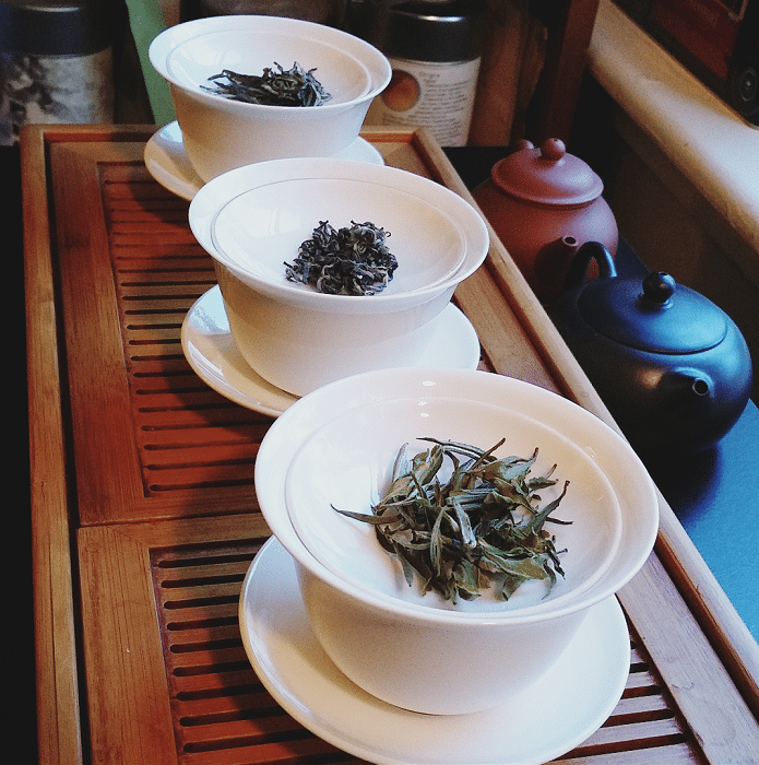 Nepali green teas