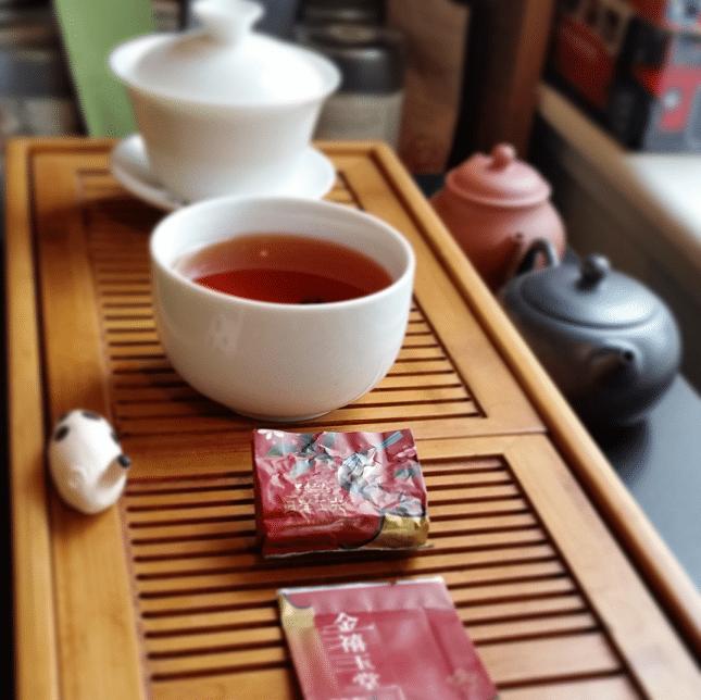 Tan Yang Gong Fu Red Label Brewed
