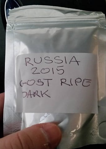 Russian Dark Tea bag