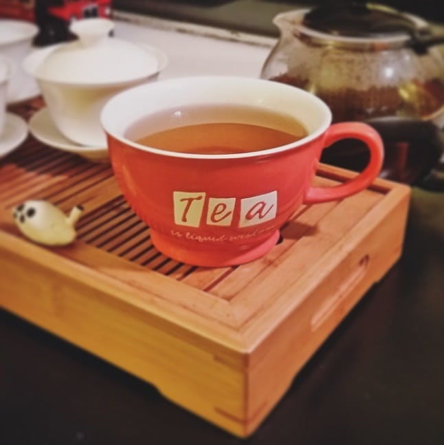 all three gong fu brewed together. again