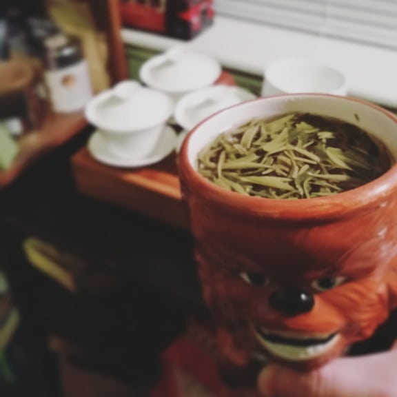 nepali green teas brewed together