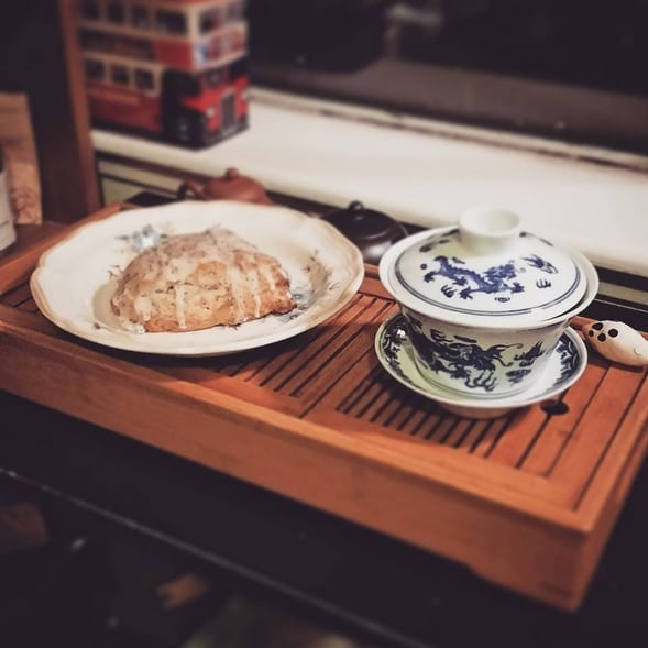Tan Yang Gong Fu and scone