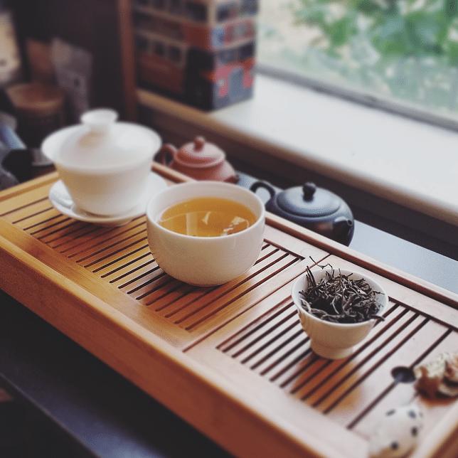 2015 dark tea brewed