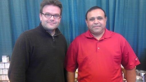 Me and Devan Shah