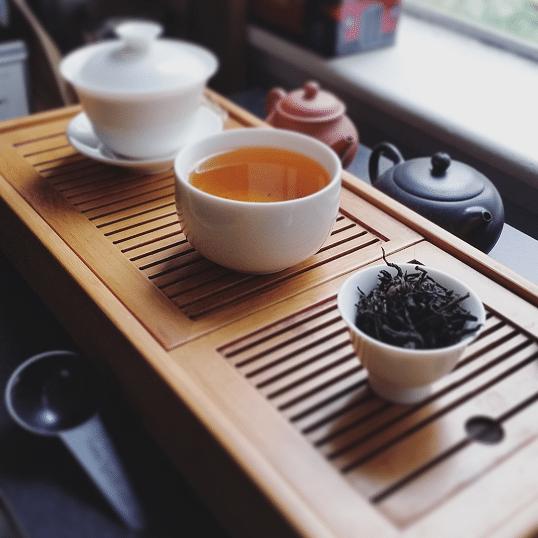 Solohaul Alpine black tea brewed