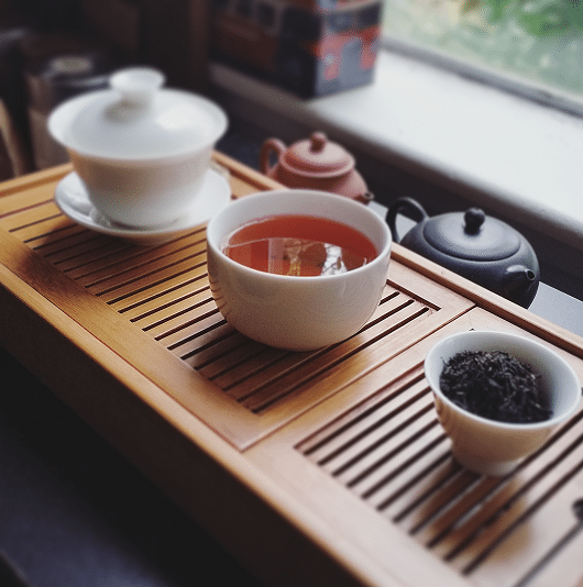 Solohaul Keemun black tea brewed