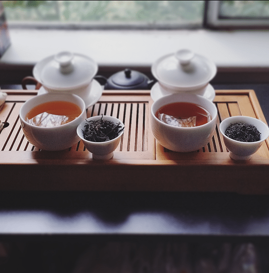 Solohaul black tea pairing brewed