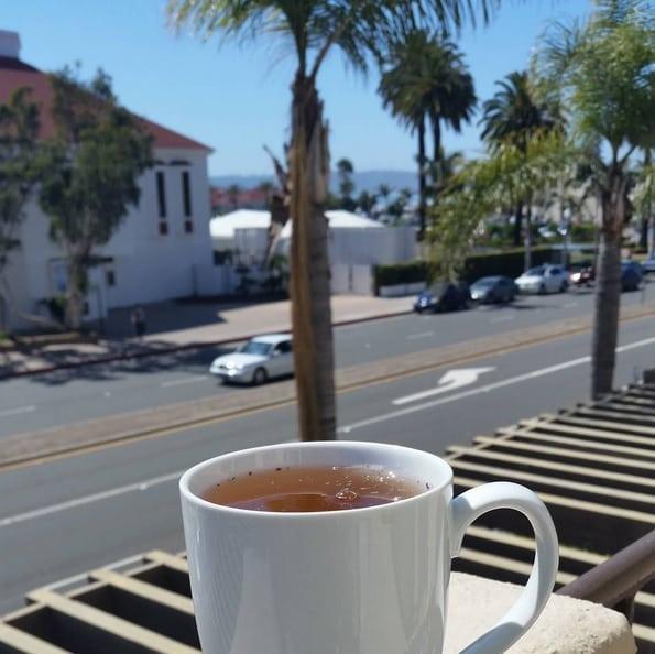 Tea in Coronado