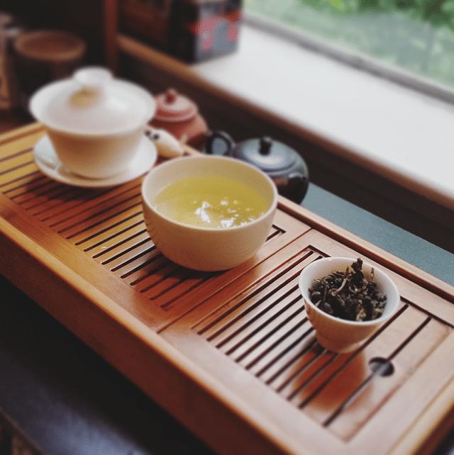 Ali Shan dark tea September brewed