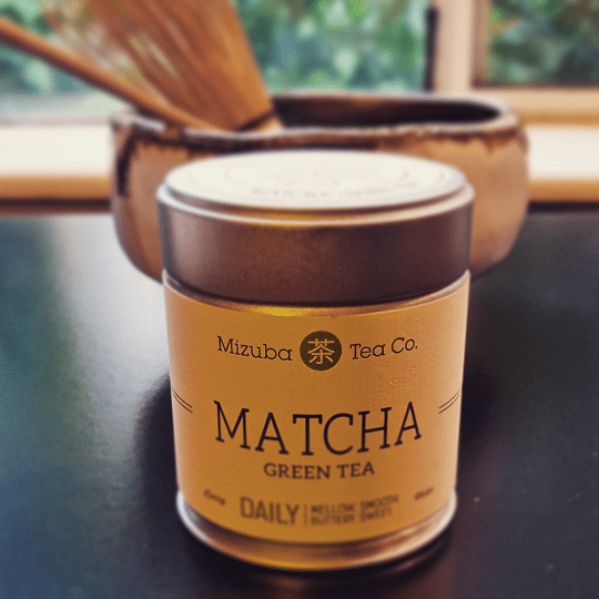 Mizuba Matcha canister