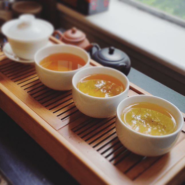 Tie Luo Han oolong infusions