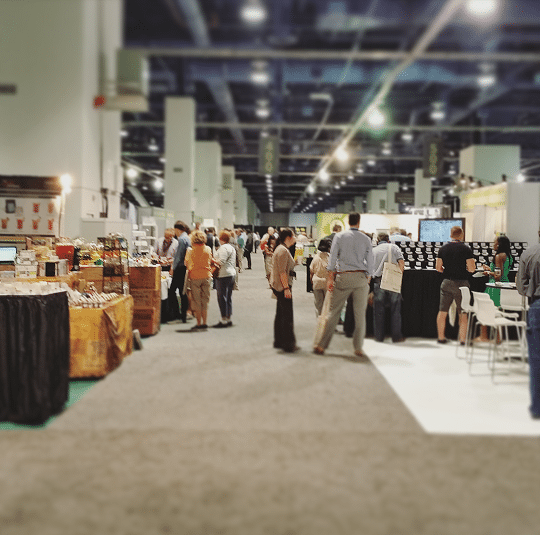 World Tea Expo Floor