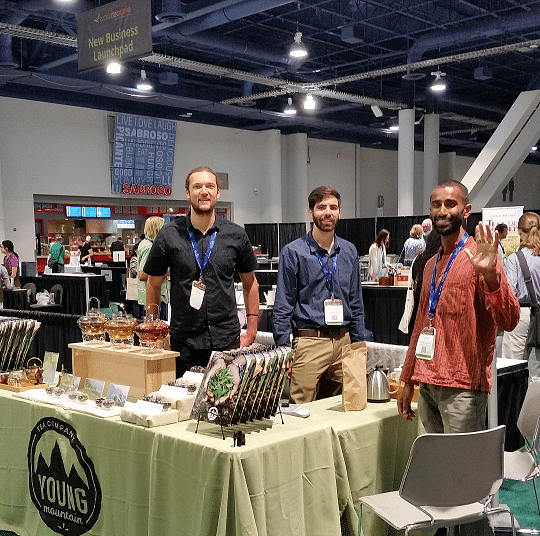 Young Mountain at World Tea Expo