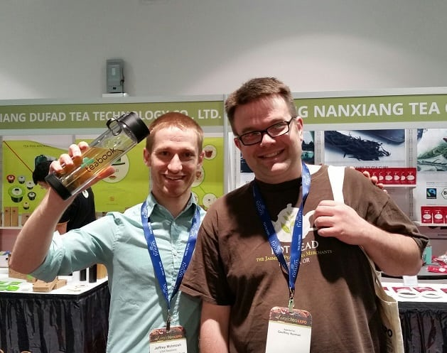 Met Jeffrey McKintosh at World Tea Expo