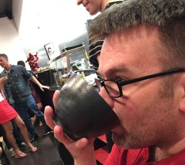 me and the matcha bowl
