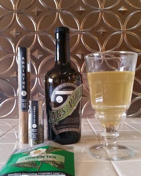 Absinthe green tea