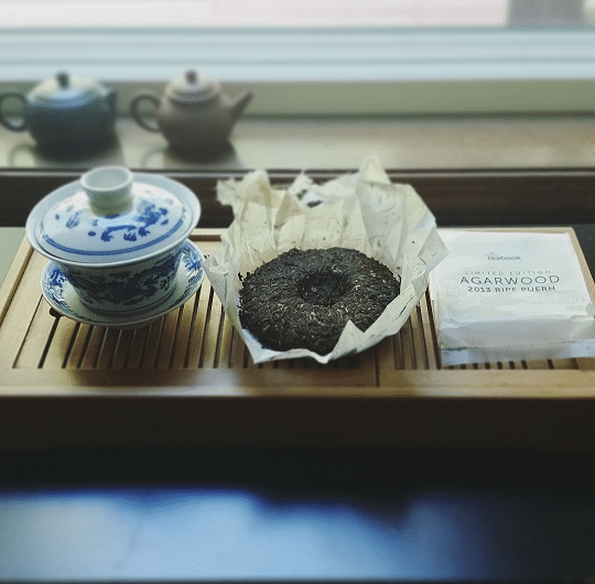 Opening the Agarwood puerh