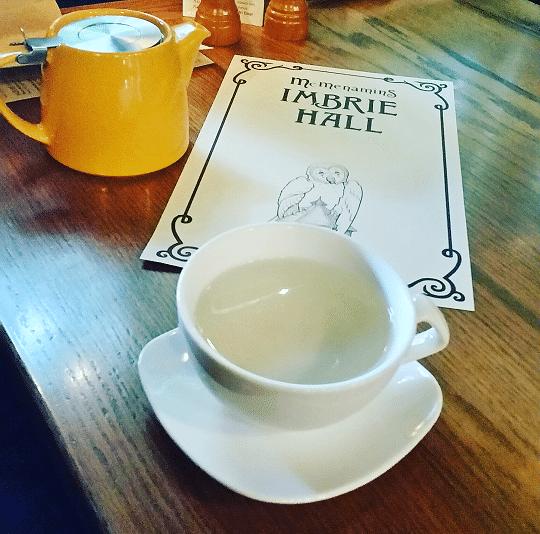 Tea in a bar 2