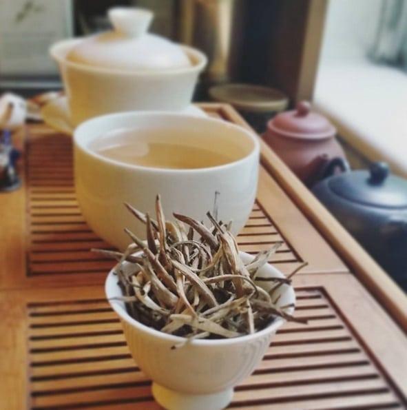 Thai white tea