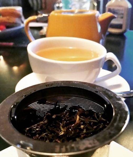 tea in a bar